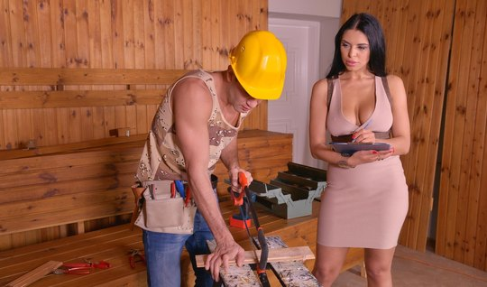He writes off the carpenters debts as a netting and sex itself – porn tube