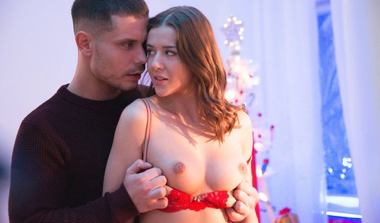 A couple of young lovers all New Year's Eve has sex – youjizz